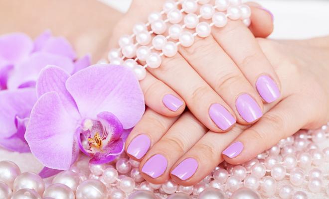 manicure and pedicure. body care, spa treatments